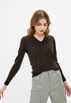 Пуловер Alpha Studio. Цвет: коричневый