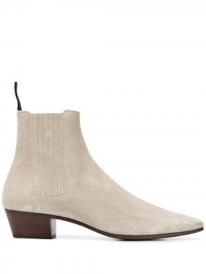 Ботинки челси Dylan Saint Laurent. Цвет: серый