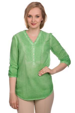 Блузa Apanage. Цвет: зелёный