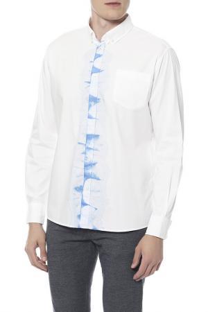 Сорочка Bottega Veneta. Цвет: белый