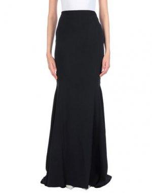 Длинная юбка ANTONIO BERARDI. Цвет: черный