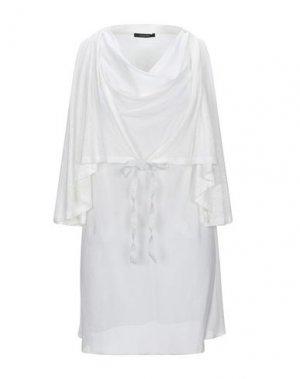 Короткое платье CARACTÈRE. Цвет: белый