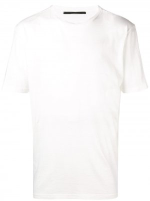 Somewhere back print T-shirt Haider Ackermann. Цвет: белый
