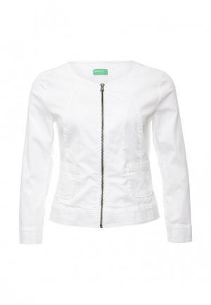 Куртка United Colors of Benetton. Цвет: белый