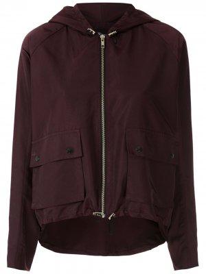Куртка Atlanta на молнии с капюшоном Uma | Raquel Davidowicz. Цвет: фиолетовый