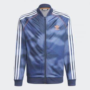 Олимпийка Camo SST Originals adidas. Цвет: красный