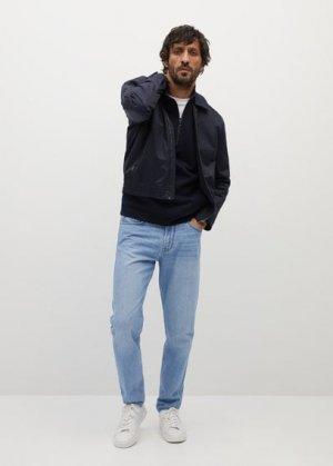 Прямые джинсы Bob из светлого денима - Mango. Цвет: светло-синий