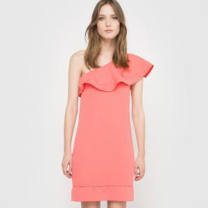 Платье вечернее LA REDOUTE COLLECTIONS. Цвет: коралловый