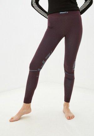 Термобелье низ Craft ACTIVE INTENSITY PANTS. Цвет: фиолетовый