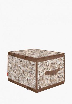 Короб для хранения Valiant. Цвет: бежевый