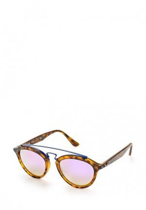 Очки солнцезащитные Ray-Ban® RB4257 6266B0. Цвет: коричневый