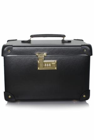 Черный мини-чемодан Vanity Agent Provocateur. Цвет: черный