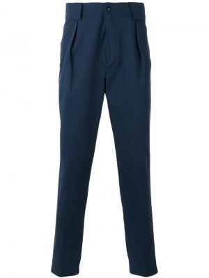 Классические брюки чинос Etro. Цвет: синий
