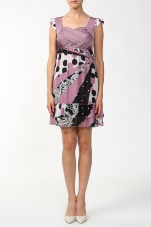 Платье Petro Soroka. Цвет: фиолетовый