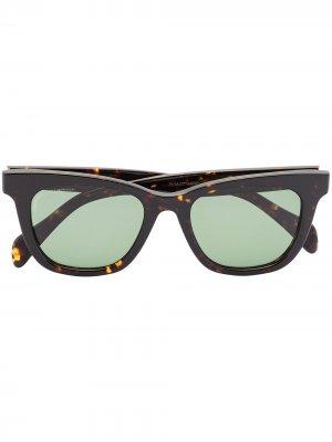 Солнцезащитные очки Viator Roadmaster в квадратной оправе visvim. Цвет: коричневый