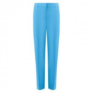 Хлопковые брюки BOSS. Цвет: зелёный