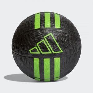 Баскетбольный резиновый мини-мяч 3-Stripes Performance adidas. Цвет: черный