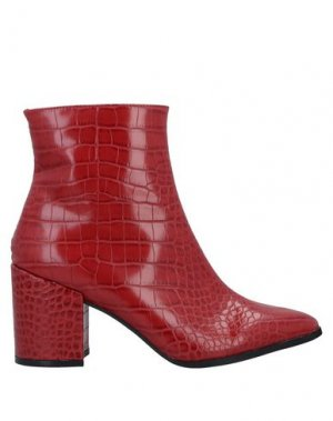 Полусапоги и высокие ботинки CAFèNOIR. Цвет: красный