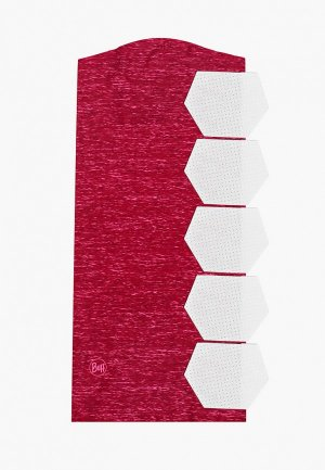 Маска для лица с фильтрующим элементом Buff Pump Pink HTR. Цвет: розовый