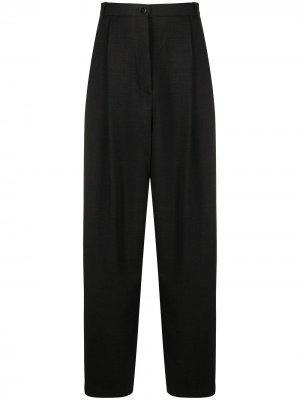 Зауженные брюки с завышенной талией Acne Studios. Цвет: серый
