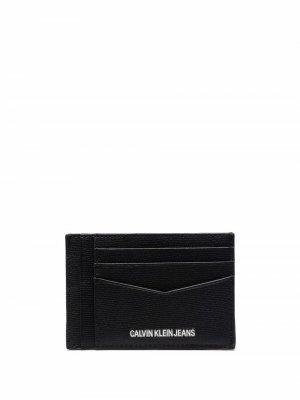 Картхолдер с логотипом Calvin Klein Jeans. Цвет: черный
