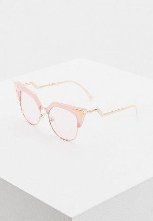 Очки солнцезащитные Fendi FF 0149/S 35J. Цвет: розовый