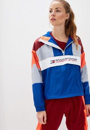 Ветровка Tommy Sport. Цвет: разноцветный
