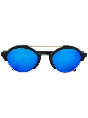 Солнцезащитные очки Milan Illesteva. Цвет: чёрный