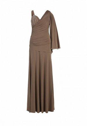 Платье Corleone. Цвет: бежевый