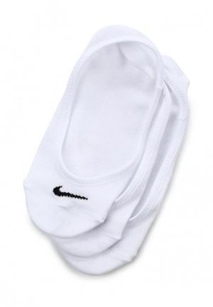 Комплект Nike WOMENS EVERYDAY LIGHTWEIGHT FOOTIE TRAINING SOCK (3 PAIR). Цвет: белый