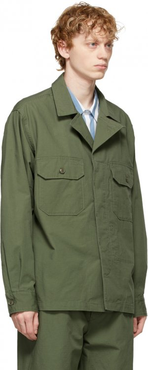 Green MC Shirt Engineered Garments. Цвет: ct010 olive