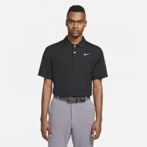 Мужская рубашка-поло для гольфа Dri-FIT - Черный Nike