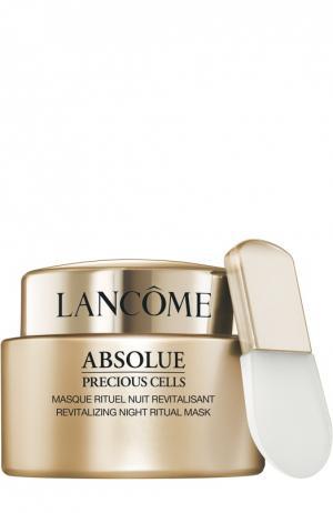 Ночная восстанавливающая маска для лица Absolue PC Lancome. Цвет: бесцветный