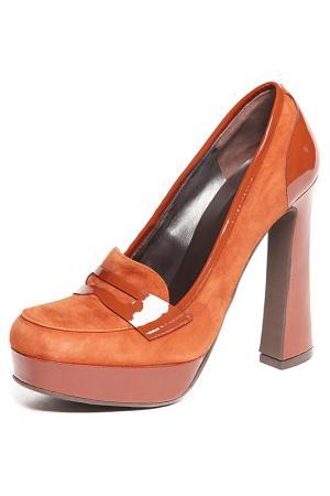 Туфли BAGATT. Цвет: light brown