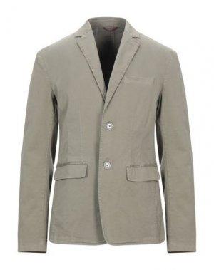 Пиджак GAUDÌ. Цвет: зеленый-милитари
