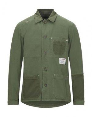 Пиджак THE EDITOR. Цвет: зеленый-милитари