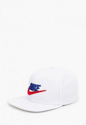 Бейсболка Nike Y NK PRO CAP FUTURA 4. Цвет: белый