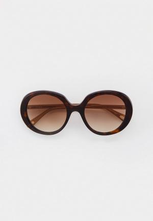 Очки солнцезащитные Chloe CH0007S. Цвет: коричневый