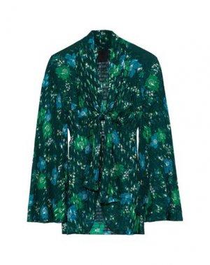 Пиджак ANNA SUI. Цвет: темно-зеленый