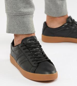 Кожаные кроссовки Aztec Gola. Цвет: черный