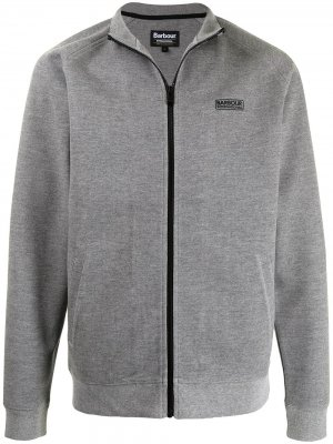Куртка с логотипом Barbour. Цвет: серый