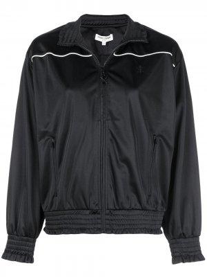 Спортивная куртка с полосками Opening Ceremony. Цвет: черный