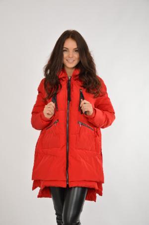 Куртка утепленная Befree. Цвет: красный