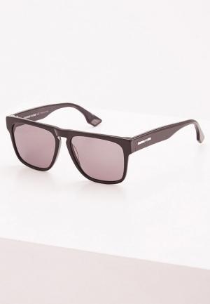 Очки солнцезащитные McQ Alexander McQueen MQ0079S001. Цвет: черный