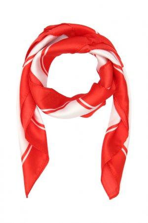 Платок F.FRANTELLI. Цвет: красный, белый