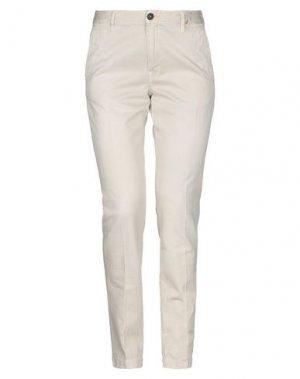 Повседневные брюки PENCE. Цвет: бежевый