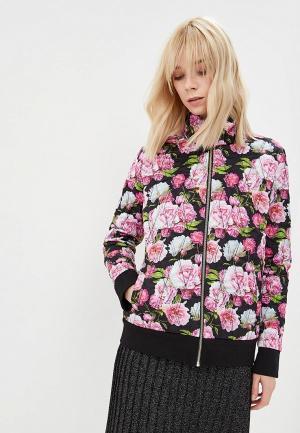 Куртка утепленная Terekhov Girl. Цвет: черный
