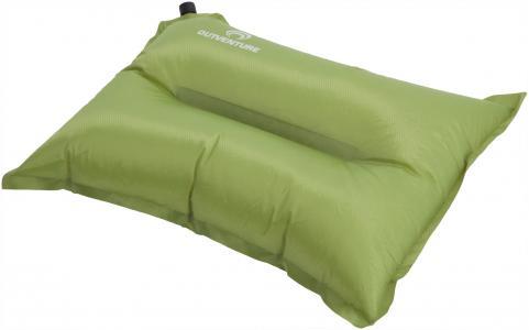 Подушка самонадувающаяся Outventure. Цвет: зеленый