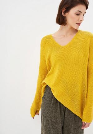 Пуловер Art Love. Цвет: желтый