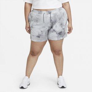 Женские шорты Sportswear Icon Clash (большие размеры) - Серый Nike